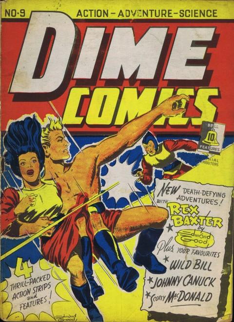 Edmond Good cover for Dime Comics 9