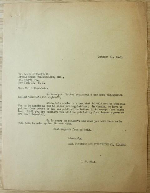 Gene Bell's response.