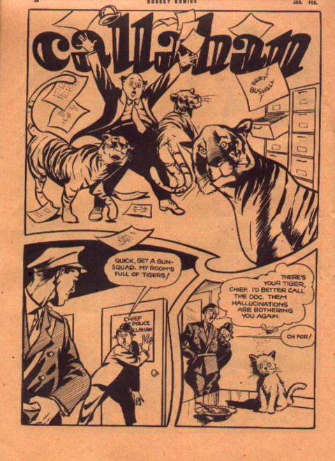 Bert Bushell's Callahan from Rocket Comics Vol. 3 No. 2