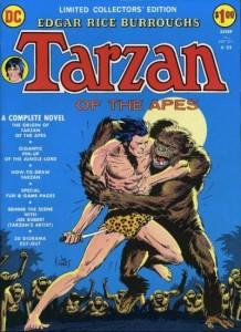 tarzan dc comics limited collectors edition