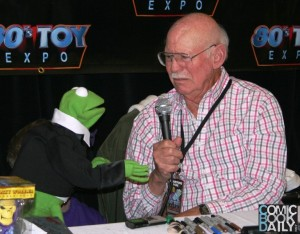 80s Toy Expo - Kermit the Frog and Alan Oppenheimer