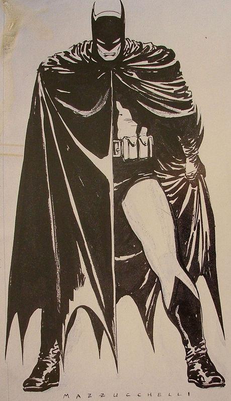 Batman Year One by David Mazzucchelli