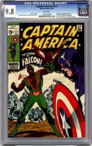 Captain America 117 CGC 9-8