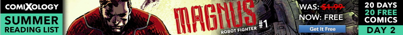 ComiXology Summer Reading List banner