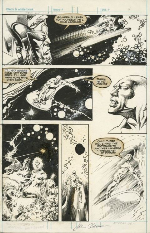 Epic Illustrated issue 1 page 4 by John Buscema
