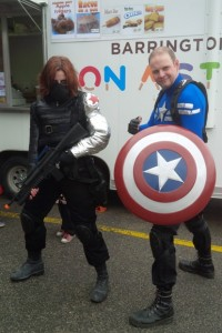 FCBD Winter Soldier and Captain America
