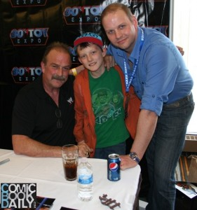 Jake the Snake Roberts and Ed Campbell