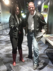Rogue and Wolverine