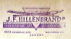 Hillenbrand's business card.