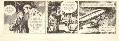 Secret Agent Corrigan 2-10-1971 by Al Williamson.  Source.
