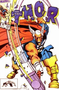 Thor issue 337 cover