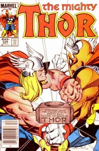 Thor issue 338 cover
