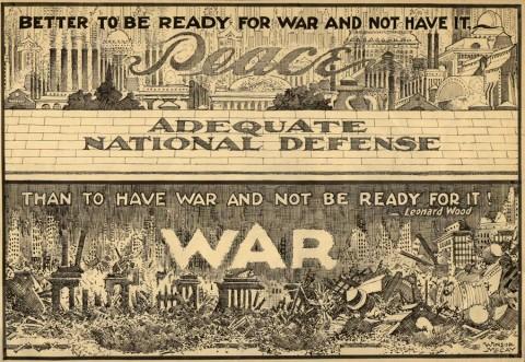 WWI Draft Cartoon by Winsor McCay.  Source.