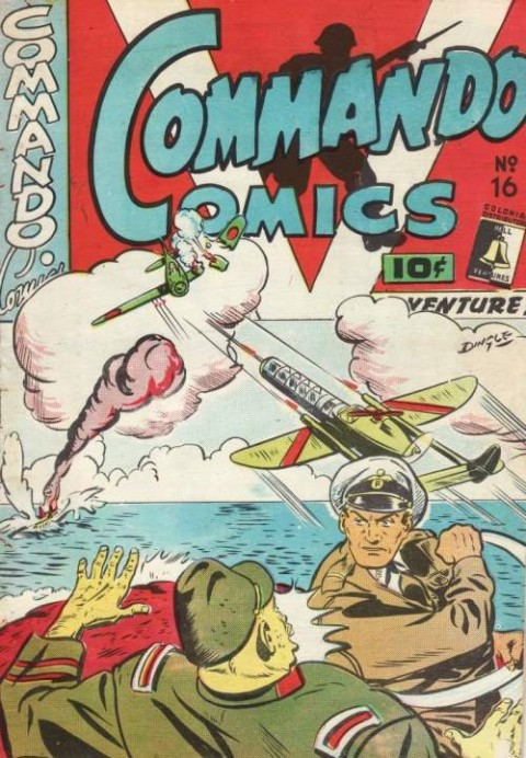 Commando Comics 16, generic war cover.