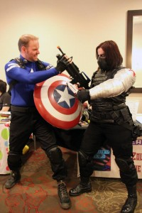 BTS Captain America Winter Soldier - photo by Dr. Stevil