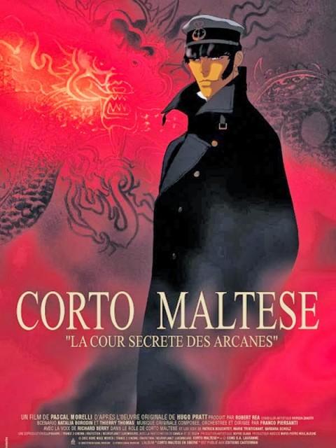 Corto Maltese La Cour Secrete Des Arcanes poster