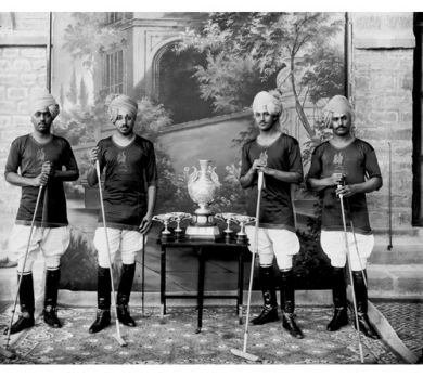 A turn of last century Indian polo squad.