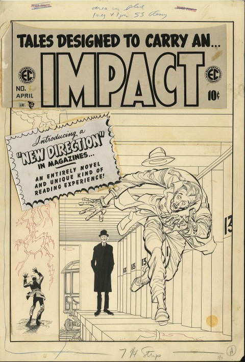 Impact issue 1 cover by Jack Davis.  Source.