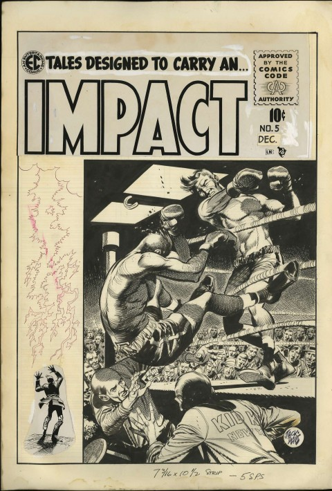 Impact issue 5 cover by Jack Davis.  Source.