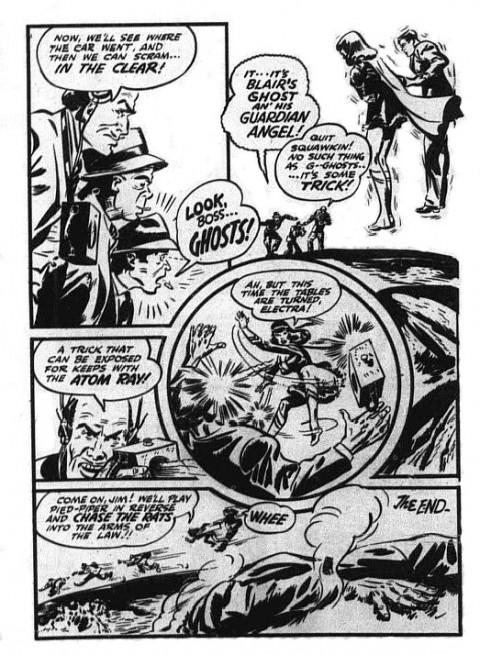 The very last Nelvana page in Triumph Comics