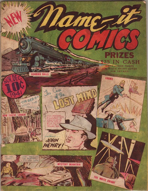 Name-It Comics No. 1 -- The only issue.