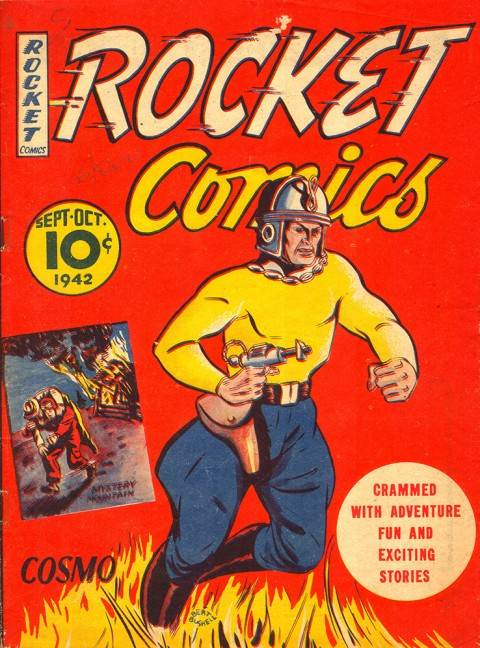The cover of Rocket Comics Vol. 1 No. 6 featuring Cosmo