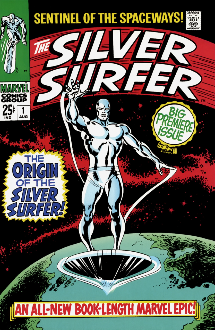 Why did the original Silver Surfer run fail? #1-18