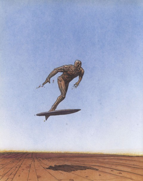 Silver Surfer by Moebius.  Source.
