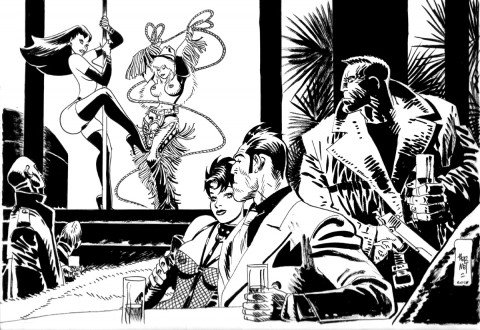 Sin City by Jordi Bernet.  Source.