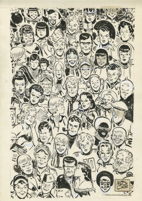 Terry and the Pirates by Milton Caniff.  Source.