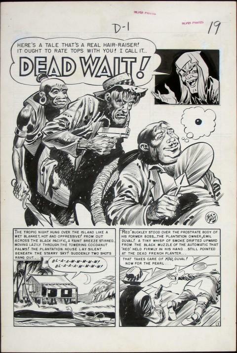 Vault of Horror issue 23 splash by Jack Davis.  Source.