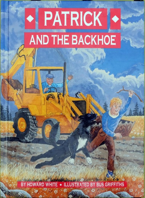 Bus' cover for Patrick and the Backhoe