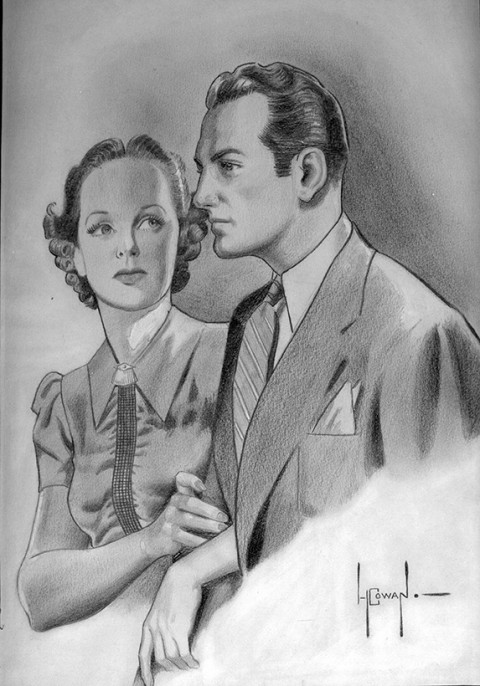 Howard B. Cowan artwork circA 1939