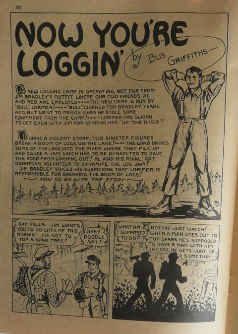 From Rocket Comics Vol. 1 No. 7 (Nov.-Dec. 1942)