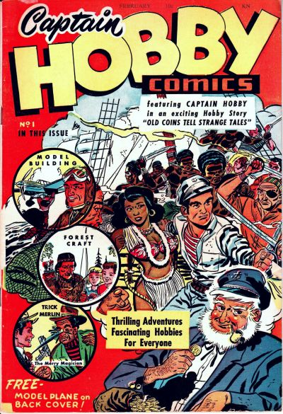 Captain Hobby Comics No. 1 by Export Publishing from about 1949