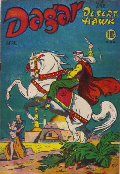 Dagar Comics No. 1 from Pioneer Publications in London Ont. with an original Rene Kulbach cover making this a hybrid.