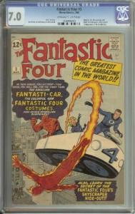 Fantastic Four 3 CGC 7.0