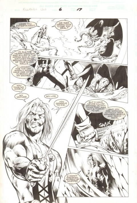 Killraven War Of The Worlds issue 6 page 17 by Alan Davis and Mark Farmer.  Source.