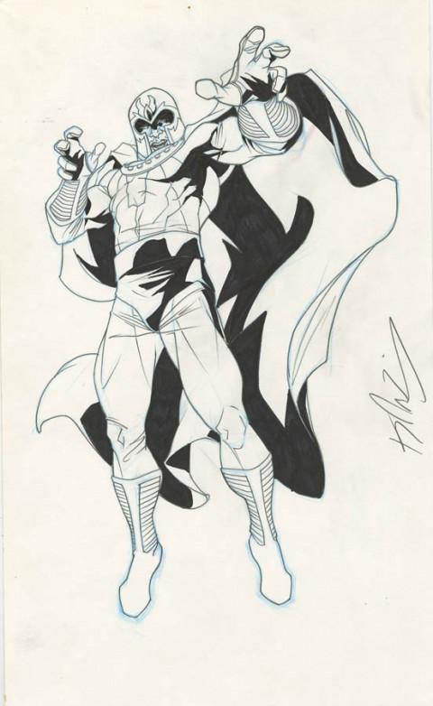 Magneto by Kalman Andrasofszky.  Source.