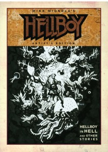 Mike Mignola's Hellboy In Hell And Other Stories Artist's Edition cover