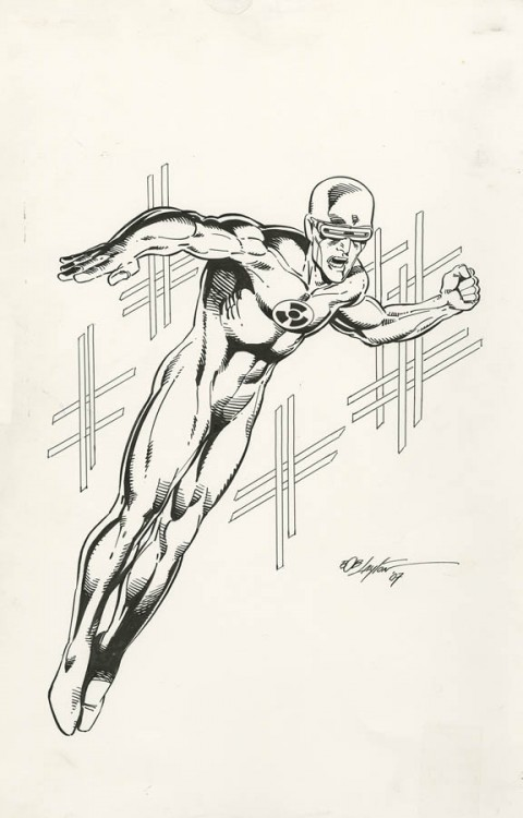 Solar by Bob Layton.  Source.