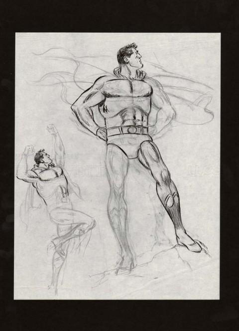 Superman by Wayne Boring.  Source.
