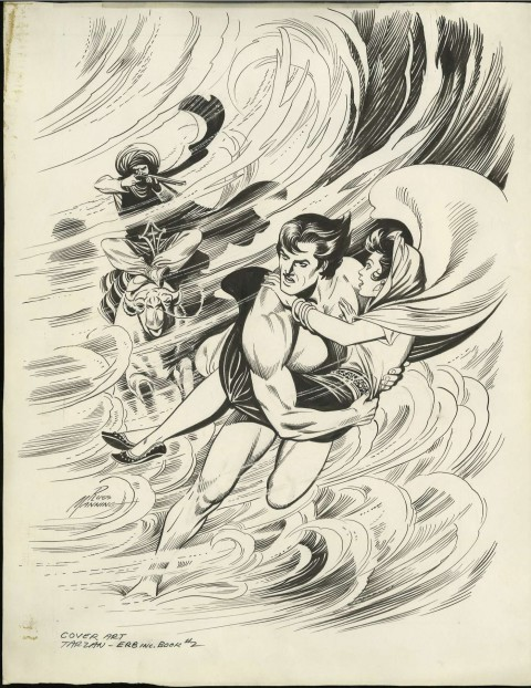Tarzan and the Tuareg Queen cover by Russ Manning.  Source.
