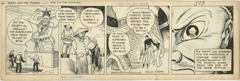 Terry And The Pirates 12-1-34 Daily by Milton Caniff.  Source.
