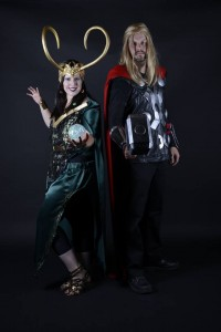 Thor and Lady Loki - Cosplay For A Cure