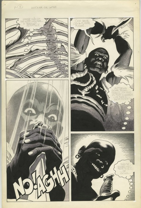 Vampirella issue 78 page 11 by Russ Heath.  Source.