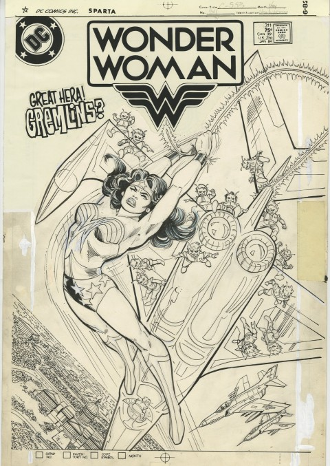Wonder Woman issue 311 by Ross Andru and Dick Giordano.  Source.