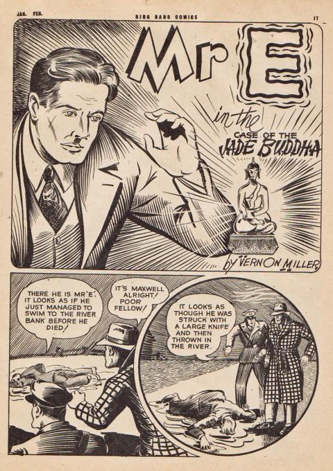 Vernon Miller from Bing Bang Comics Vol. 6 No. 5