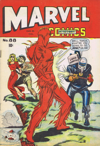 Canadian Marvel Mystery No. 88 reprinting the American No. 89