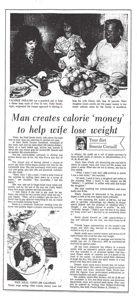 Toronto Star Aug. 26, 1971